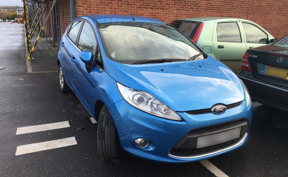Ford Fiesta Paintwork